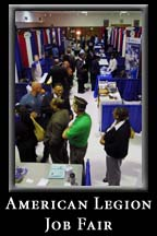 The Laurel, Maryland American Legion Chapter in association with the Maryland Department of Labor hosts a Job Fair, 8 November 2006