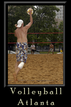 Central Atlanta Progress hosts the Atlanta Beach Volleyball Tournament 2005