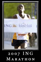 The ING Inaugural Marathon 2007 at Underground Atlanta